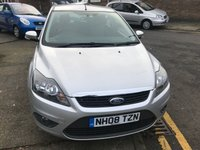 USED 2008 08 FORD FOCUS 1.6 ZETEC TDCI 5d 108 BHP