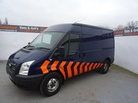 USED 2012 62 FORD TRANSIT 2.2 350 1d 124 BHP FORD TRANSIT LWB HIGH ROOF NO VAT NO VAT