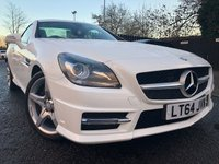 2014 MERCEDES-BENZ SLK 1.8 SLK200 BLUEEFFICIENCY AMG SPORT 2d AUTO 184 BHP £14788.00