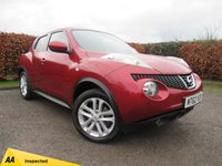 USED 2012 62 NISSAN JUKE 1.6 TEKNA DIG-T 5d  * 4 or 2 WHEEL DRIVE * AUTOMATIC * PARKING SENSORS and CAMERA