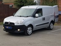 2013 FIAT DOBLO 2.0 MULTIJET 135BHP IN SILVER WITH AIR CONDITIONING £4995.00