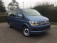 USED 2016 66 VOLKSWAGEN TRANSPORTER SHUTTLE 2.0 T32 TDI SHUTTLE SE BMT LWB 9 SEAT DSG Euro 6, Long Wheel Base, 9 Seats, DSG Automatic
