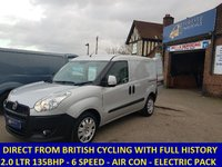2013 FIAT DOBLO 2.0 MULTIJET 135BHP IN SILVER WITH AIR CONDITIONING £4795.00