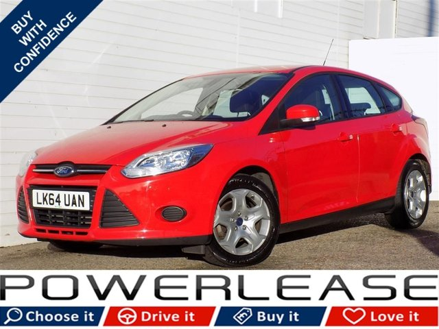 USED 2014 64 FORD FOCUS 1.6 EDGE ECONETIC TDCI 5d 104 BHP FREE TAX AIR CONDITIONING FSH