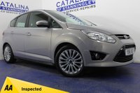 USED 2012 61 FORD C-MAX  1.6 TITANIUM TDCI 5DR 6 STAMPS-1 OWNER-B/TOOTH