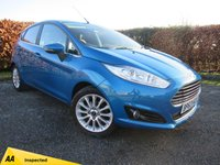 USED 2014 63 FORD FIESTA 1.0 TITANIUM X 5d  *  HEATED LEATHER INTERIOR * VOICE ACTIVATED CONTROLS *