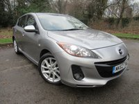USED 2012 62 MAZDA 3 1.6 TAMURA 5d  ONLY OWNER FROM NEW, LOW MILEAGE