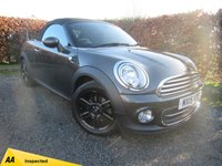 USED 2015 15 MINI ROADSTER 1.6 COOPER 2d * SOFT TOP ELECTRIC CONVERTIBLE ROOF *