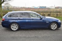 USED 2015 65 BMW 5 SERIES 2.0 520D SE TOURING 5d AUTO 188 BHP SERVICE HISTORY, LEATHER SEATS, SAT NAV, BLUETOOTH
