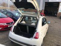 USED 2011 61 FIAT 500 0.9 LOUNGE 3d 85 BHP