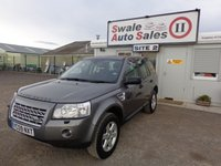 USED 2009 09 LAND ROVER FREELANDER 2.2 TD4 GS 5d 159 BHP FINANCE AVAILABLE ON REQUEST