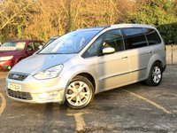 2011 FORD GALAXY 2.2 TITANIUM X TDCI 5d FULL BLACK LEATHER, PAN ROOF, 7 SEATER  £11990.00