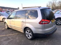USED 2011 11 FORD GALAXY 2.2 TITANIUM X TDCI 5d FULL BLACK LEATHER, PAN ROOF, 7 SEATER  ONLY 47,000 MILES, 4 SERVICES, I FORMER KEEPER,