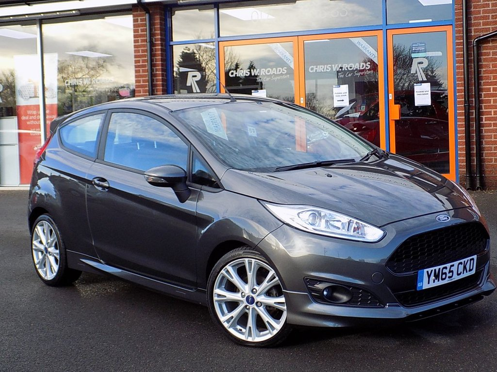 USED 2016 65 FORD FIESTA 1.0 Ecoboost Zetec S 3dr (140) ** Bluetooth + DAB + AC **