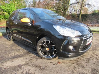 2014 CITROEN DS3 1.2 DSIGN BY BENEFIT 3d 82 BHP £6795.00