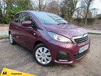 USED 2015 65 PEUGEOT 108 1.0 ACTIVE 3d 68 BHP LOW MILEAGE STARTER CAR