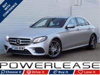 USED 2016 66 MERCEDES-BENZ E CLASS 2.0 E 220 D AMG LINE 4d AUTO 192 BHP HEATED 1/2 LEATHER SAT NAV