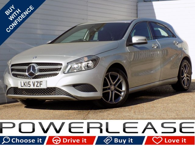 USED 2015 15 MERCEDES-BENZ A CLASS 1.5 A180 CDI BLUEEFFICIENCY SPORT 5d AUTO 109 BHP FSH 20 POUND ROAD TAX LEATHER