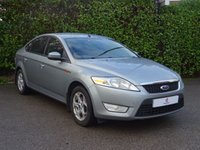 USED 2008 58 FORD MONDEO 2.0 ZETEC TDCI 5d 140 BHP Climate Control, Air Conditioning, Heated Front + Rear Screen, Cruise Control, Finished In Silver Metallic Paintwork, Alloy Wheels, Drive Away In Under 1 Hour