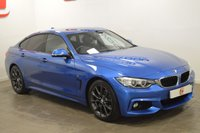 USED 2015 65 BMW 4 SERIES 2.0 420I M SPORT GRAN COUPE 4d 181 BHP 1 LADY OWNER + ONLY 11,000 MILES + SAT NAV + HEADS UP DISPLAY