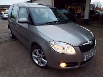 View our SKODA ROOMSTER
