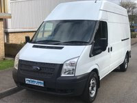 2013 FORD TRANSIT 2.2 FWD 350 LWB HIGH ROOF 100 BHP 6 SPEED £5995.00