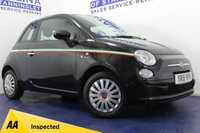 USED 2015 15 FIAT 500  1.2 POP 3DR LOW MILES-SERVICE HISTORY