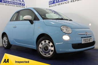 2013 FIAT 500  1.2 COLOUR THERAPY 3DR £4450.00