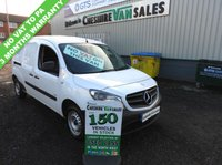 USED 2014 14 MERCEDES-BENZ CITAN 1.5 109 CDI BLUEEFFICIENCY 90 BHP NO VAT TO PAY 2 OWNERS FROM NEW 2 OWNERS FROM NEW NO VAT TO PAY