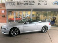 USED 2008 BMW 635 635D SPORT AUTO CONVERTIBLE BMW 635D SPORT AUTO CONVERTIBLE
