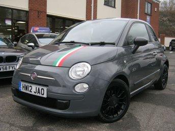 2012 FIAT 500 0.9 TWINAIR 3d 85 BHP £4495.00