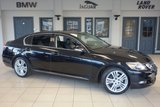 USED 2009 58 LEXUS GS 3.5 450H SE-L 4d 345 BHP FINISHED IN STUNNING BLACK WITH FULL BLACK LEATHER SEATS + FULL SERVICE HISTORY + SATELLITE NAVIGATION + REVERSE CAMERA + MEMORY/HEATED FRONT SEATS + CRUISE CONTROL + BLUETOOTH + 18 INCH ALLOYS + POWER FOLD MIRRORS....