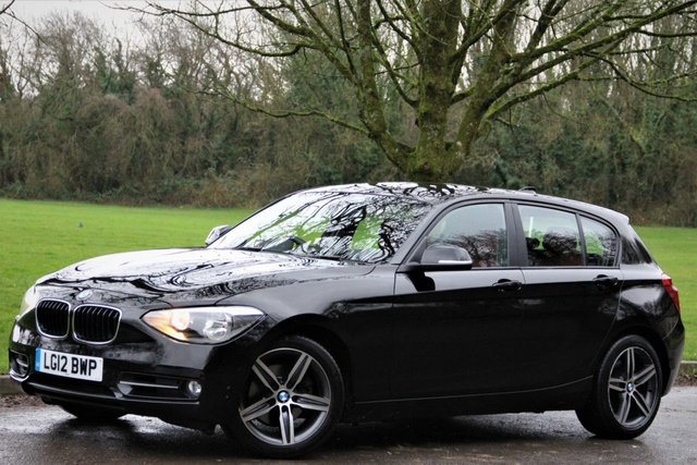 2012 12 BMW 1 SERIES 2.0 120D SPORT 5d 181 BHP