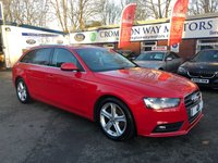 USED 2013 13 AUDI A4 2.0 AVANT TDIE SE TECHNIK 5d 161 BHP 0%  FINANCE AVAILABLE ON THIS CAR PLEASE CALL 01204 317705