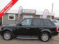 2008 LAND ROVER RANGE ROVER SPORT 2.7 TDV6 SPORT S 5DR AUTOMATIC DIESEL 188 BHP £9300.00
