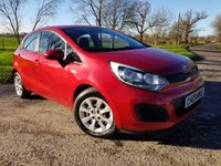 2014 KIA RIO 1.1 CRDI 1 AIR ECODYNAMICS 5d + FULL HISTORY + 2 KEYS £4775.00