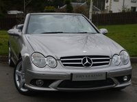USED 2007 07 MERCEDES-BENZ CLK 3.0 CLK280 AMG SPORT 2d AUTO 228 BHP ***STUNNING CONVERTIBLE*** OVER £5000 WORTH OF FACTORY EXTRAS