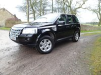 USED 2008 58 LAND ROVER FREELANDER 2.2 TD4 GS 5d 159 BHP FANTASTIC EXAMPLE. EXCELLENT HISTORY. 4 AS NEW MICHELIN TYRES. PARKING SENSORS. CRUISE CONTROL