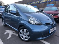 USED 2008 08 TOYOTA AYGO 1.0 BLUE VVT-I 5d AUTO 68 BHP SMALL AUTOMATIC + LOW ROAD TAX ONLY £20