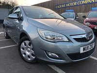 USED 2011 11 VAUXHALL ASTRA 1.4 EXCLUSIV 5d 98 BHP ONLY TWO PREVIOUS OWNERS FROM NEW