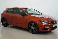 2018 SEAT LEON 2.0 TSI CUPRA DSG 3d AUTO 297 BHP £19895.00