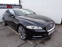 USED 2012 12 JAGUAR XJ 3.0 D V6 LUXURY SWB 4d AUTO 275 BHP £306 A MONTH FULL LEATHER INTERIOR CLIMATE CONTROL CRUISE CONTROL BLUETOOTH SAT NAV HEATED SEATS HEATED WINDSCREEN PRIVACY GLASS