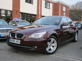 2008 BMW 5 SERIES 2.0 520D SE 4d AUTO 175 BHP