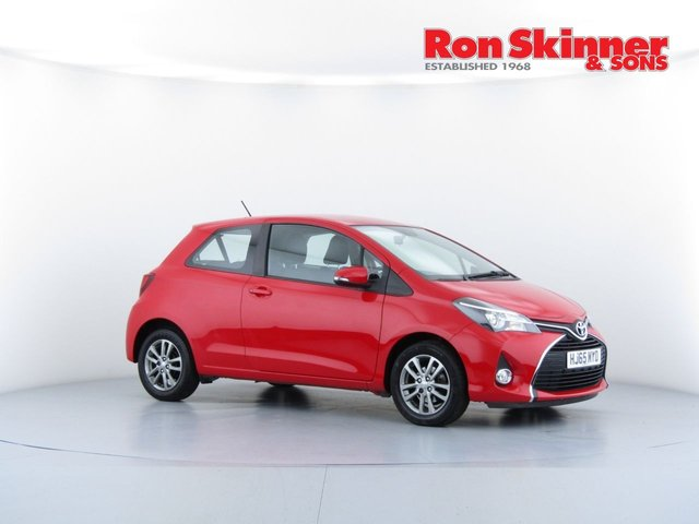 View our 2015 65 TOYOTA YARIS 1.0 VVT-I ICON 3d 69 BHP