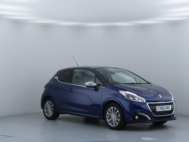 View our 2015 65 PEUGEOT 208 1.2 ALLURE 3d 82 BHP