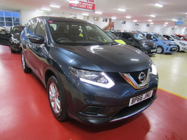 View our 2016 66 NISSAN X-TRAIL 1.6 DIG-T VISIA 5d 163 BHP