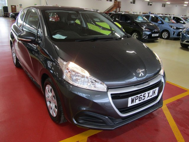 View our 2015 65 PEUGEOT 208 1.6 BLUE HDI ACCESS A/C 3d 75 BHP
