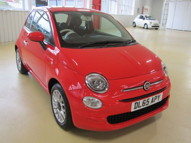 View our 2015 65 FIAT 500 1.2 POP STAR 3d 69 BHP