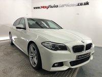 2015 BMW 5 SERIES 2.0 520D M SPORT 4d 188 BHP £16450.00