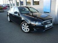 2011 AUDI A4 1.8 TFSI SE 4d 160 BHP £8980.00